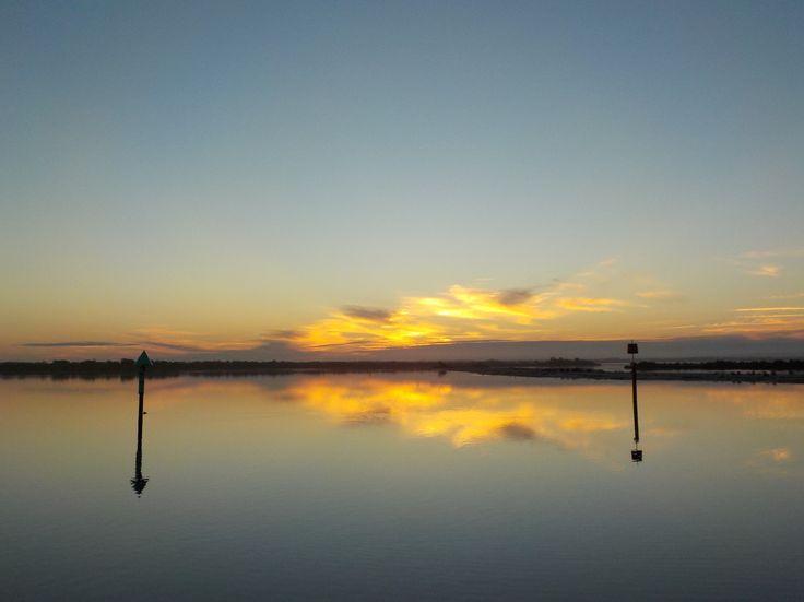 Serene Sunset, Bunga Arm, Gippsland Lakes, Victoria AUSTRALIA