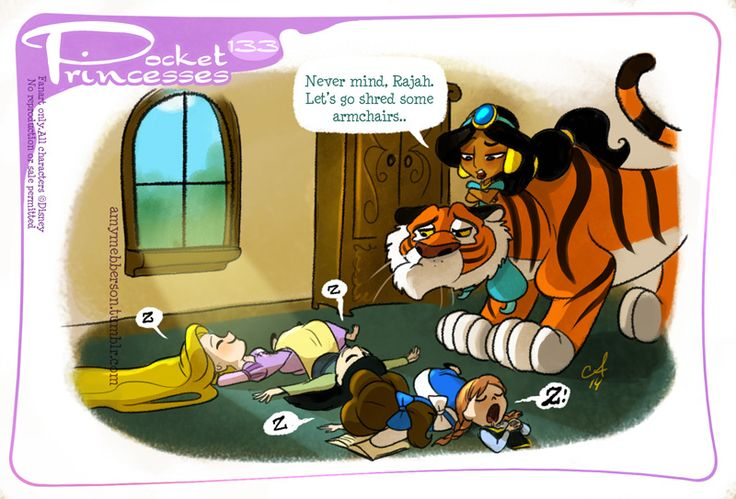 Disney Princesses Don't Always Get Along & These Adorable Fan Made Comics