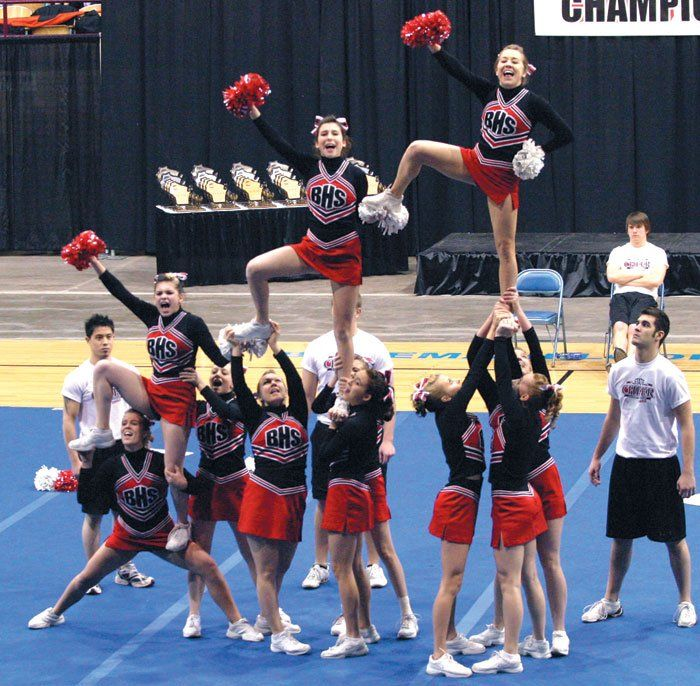 cheer stunts | cheer cheer stunts sequence lift done by bottom com cheerleading ...