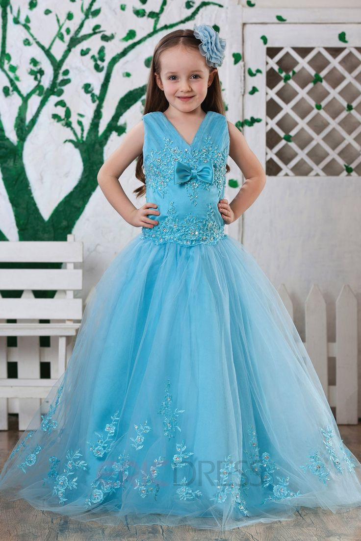 28 best flower girl dresses images on Pinterest | Bridesmaid gowns ...
