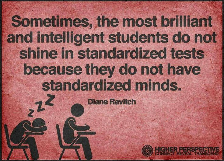 No one wants a standardized mind anyway...