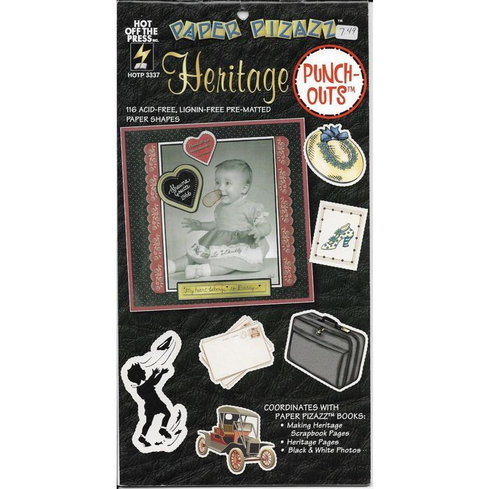 Paper Pizazz Punch Outs Heritage Craft Book 11 Pages HOTP 3337 Acid Lignin Free Listing in the Other,Paper Crafts,Scrapbooking & Paper Crafts,Crafts, Handmade & Sewing Category on eBid Canada | 166102359 CAN$ 4.00 + shipping