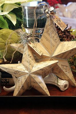 Sweet Something Designs: Paper Star Tutorial and a Giveaway