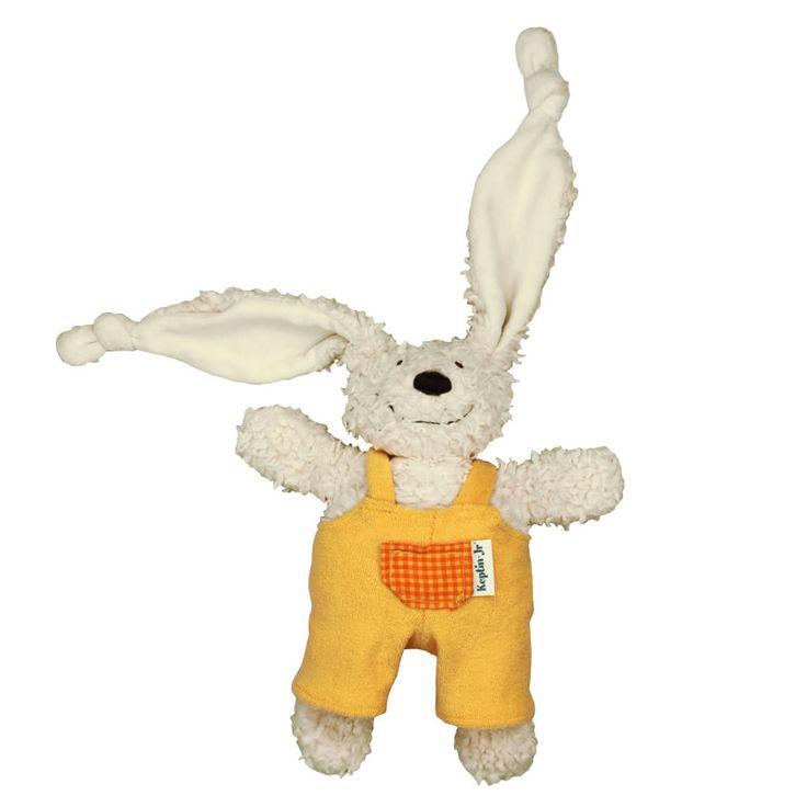 Knuffel Rabby met broekje oranje http://www.tuttelwinkel.nl/product/knuffel-rabby-met-broekje-oranje.html