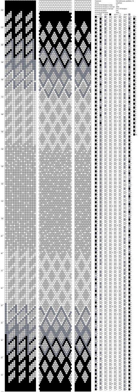 2114 best Perlenketten Muster images on Pinterest   Gehäkeltes ...