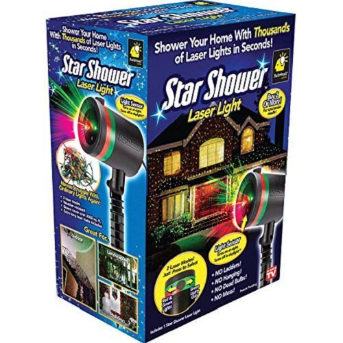 Star Shower Laser Christmas Light Projector Patio Led Lights Halloween Decor NEW #Unbranded