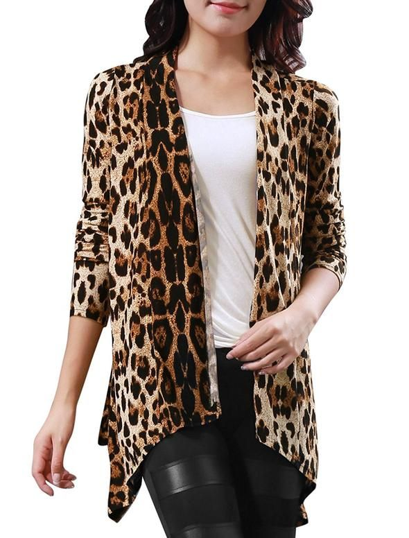 Long Sleeves Open Front Leopard Prints Cardigan!!  #queen #basic #basicbitch #pink  #instagood #memes #badgirls #brunch #brunchbitch #mimosa #giveaway #funnymeme #quote #travel #jewelry #fashion #handbags #shopping #bikini #bikinipic #champagne #wine #champagnecampaign #beauty #tagsforlikes #follow #like4like #instadaily #photography #photo