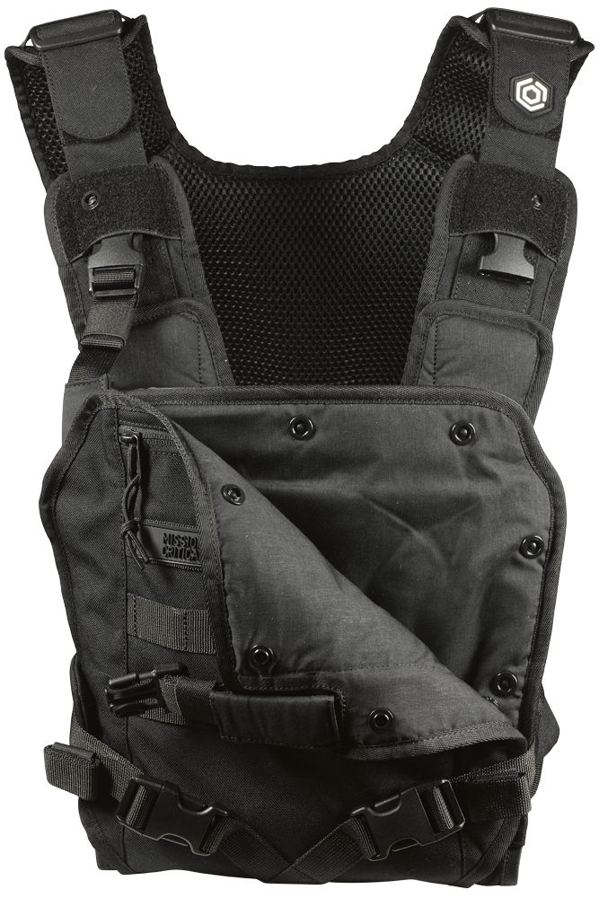 """Mission: Critical"" rugged baby carrier for daddies :)"