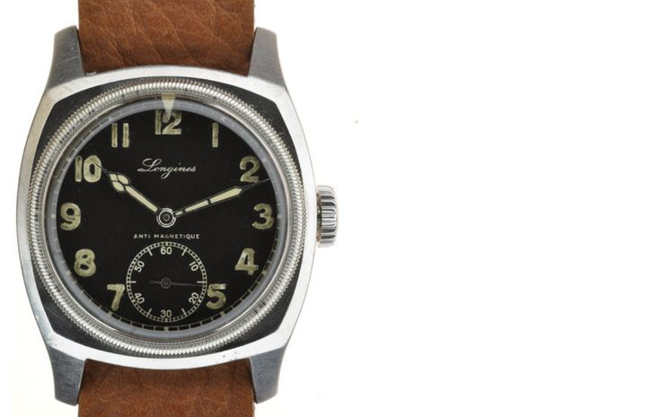 What's Selling Where: Four Great Vintage Military Watches From Jaeger-LeCoultre, Longines, Benrus, And Eterna