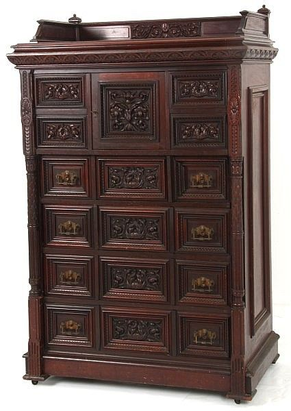 Carved Mahogany Gentleman s Chest  Fabulous Furniture RoomsFancy. 17 Best images about Victorian   Other Fancy Furniture on