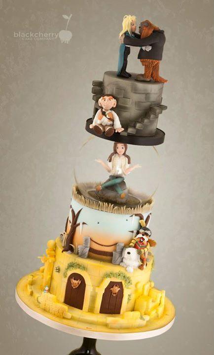 Labyrinth Cake Decorations