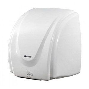 Bartscher – Sèche-mains synthétique – 850000: Boîtier en matière synthétique blanc Marche/arrêt automatique par capteur infrarouge Capacité…