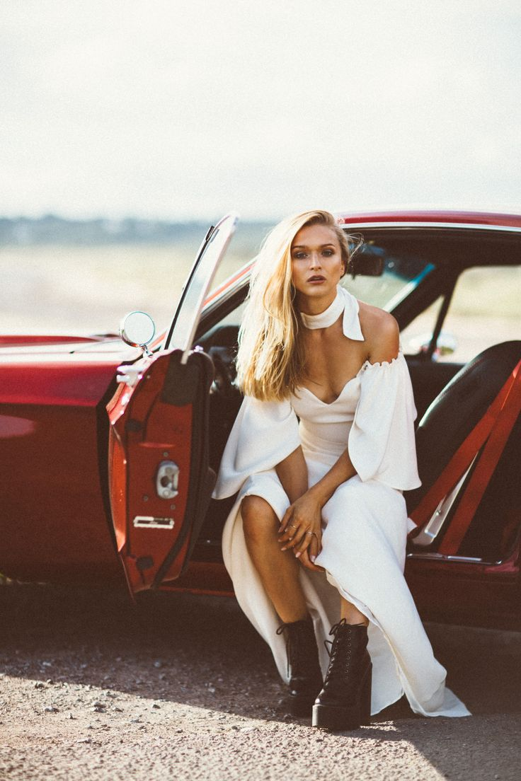 Badass Bride - Editorial - Mustang & Biker Boots - Jessica Withey Photography