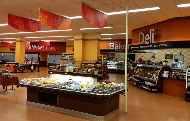 Interior Grocery Store Design Deli Area Design Bakery Decor Design Supermarket Decor
