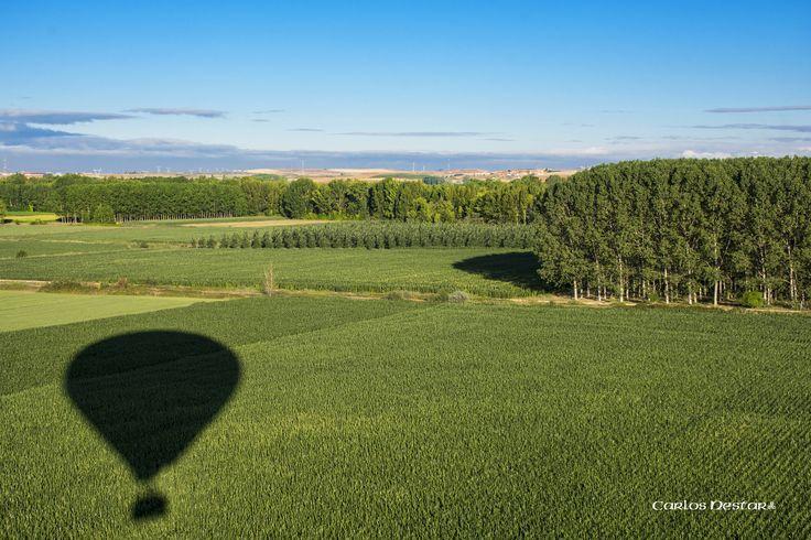 https://flic.kr/p/p9twsy   Campo de maiz a vista de globo   Viaje en globo