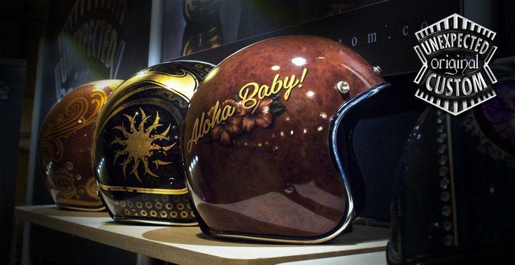 Unexpected-Custom @ American Bike Show 2013, Milan - Italy.