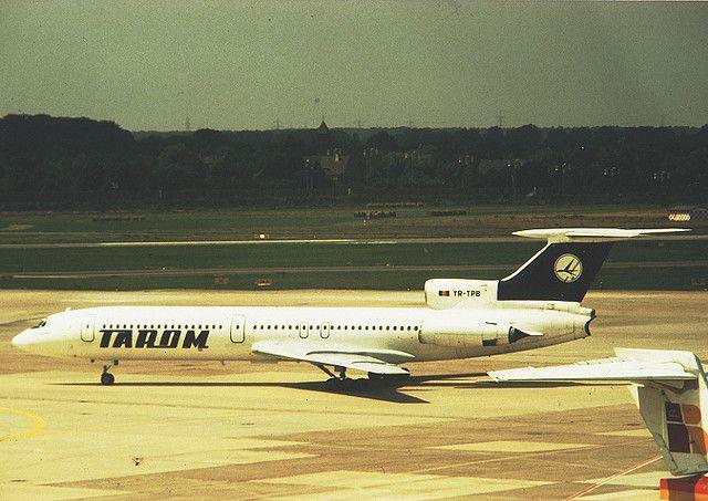 Tarom Romanian Airlines Tupolev Tu 154 YR-TPB