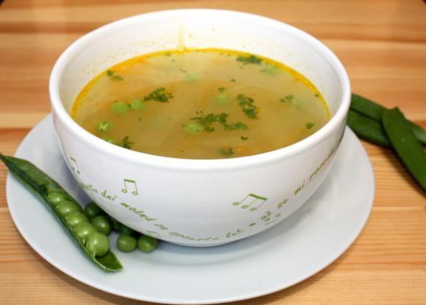 Rýchla zeleninová polievka, recept | Naničmama.sk