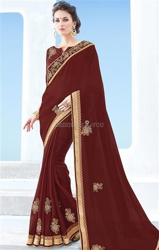 Bewitching Brown Georgette Cheap Saree For Working Women   #CasualSarees #DesignersAndYou #CasualSareesOnline #CasualSareesDesigns #CasualSareesPatterns #CasualSareeBlouseDesigns #ArtSilkSarees #ArtSilkCasualSarees #SilkSarees #LowPriceCasualSarees #CheapCasualSarees #BestPriceCasualSarees #Sarees #SareesOnline #SareesDesigns #SareesPatterns #SareeBlouse #SareesBlouseDesigns #SareesBlousePatterns #PrintedSarees #PrintedCasualSarees #FashionableSarees #SimpleSarees #DailyWearSarees…