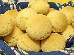 Receta de pan de queso. Preparación 6
