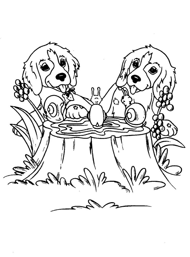 printable dog coloring pages for kids animals simple animal drawing puppy coloring pages for all ages - Coloring Pages Puppies Print