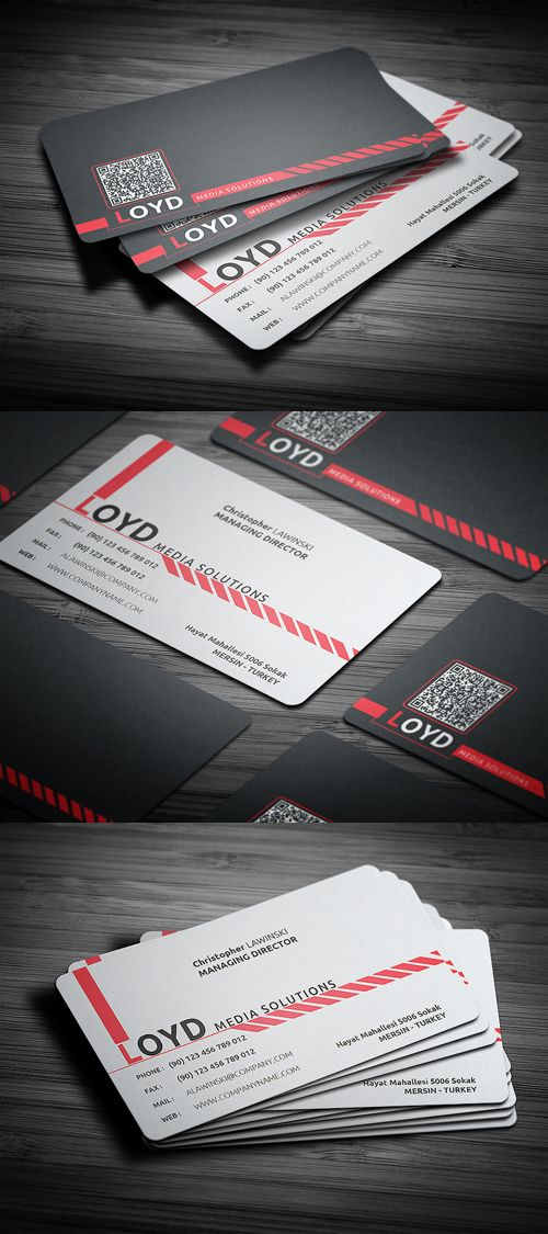 58 best Business Cards images on Pinterest | Business card design ...