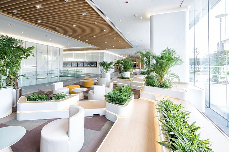 GE General Electric Shanghai Office Lobby Design 通用电气上海办公室大堂设计