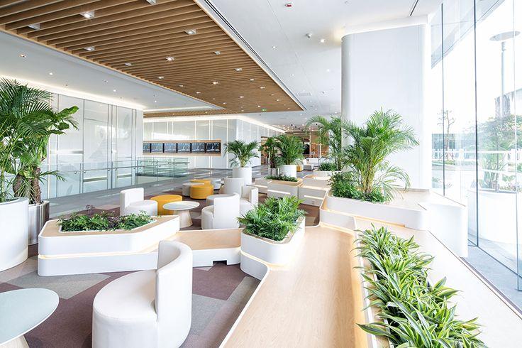 GE General Electric Shanghai Office Lobby Design ...