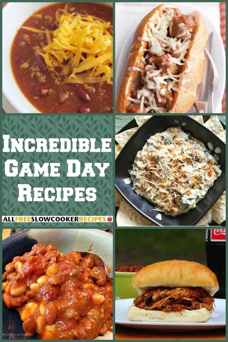 20 Incredible Game Day Food Recipes For The Big…