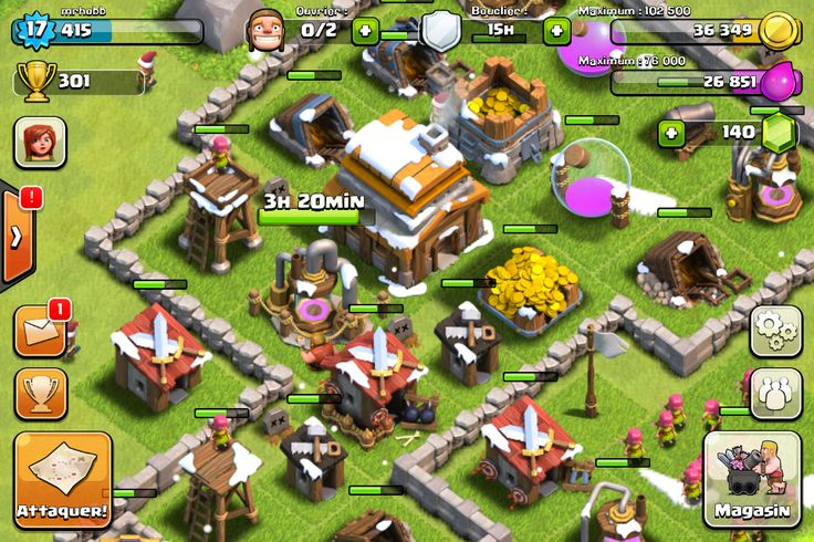 Clash of Clan #Game #Multijoueur #iPhone