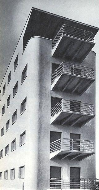 Palazzina Ostia Lido 1933 - Adalberto Libera - Wikipedia