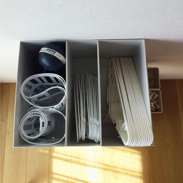 kotikkoさんの、ポリプロピレンファイルボックス,sarasa design store,ハンガー収納,キッチンワゴン,収納,ファイルボックス,タブトラックス,無印良品,棚,のお部屋写真