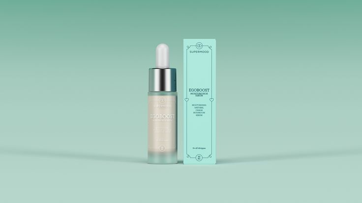 Supermood Egoboost - Moisture Kick Serum 30ml | Serum for instant moisturising. Contains natural Chaga.
