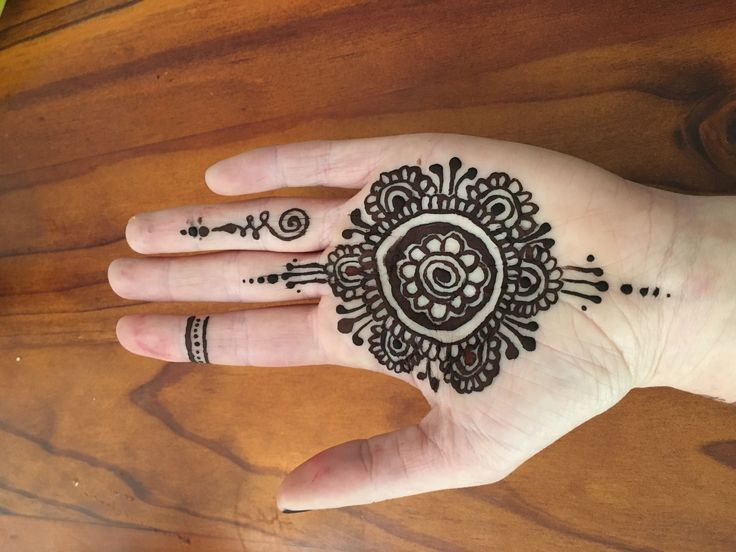 My third attempt homemade henna