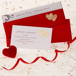 Partecipazione di nozze 090 - Arte Sposa