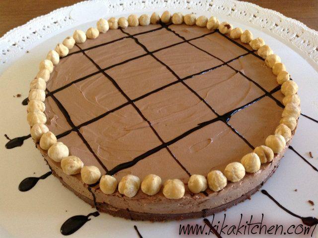 Cheesecake alla nutella (senza cottura in forno)