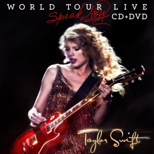Speak Now World Tour Live (CD/DVD) by Taylor Swift (2011)