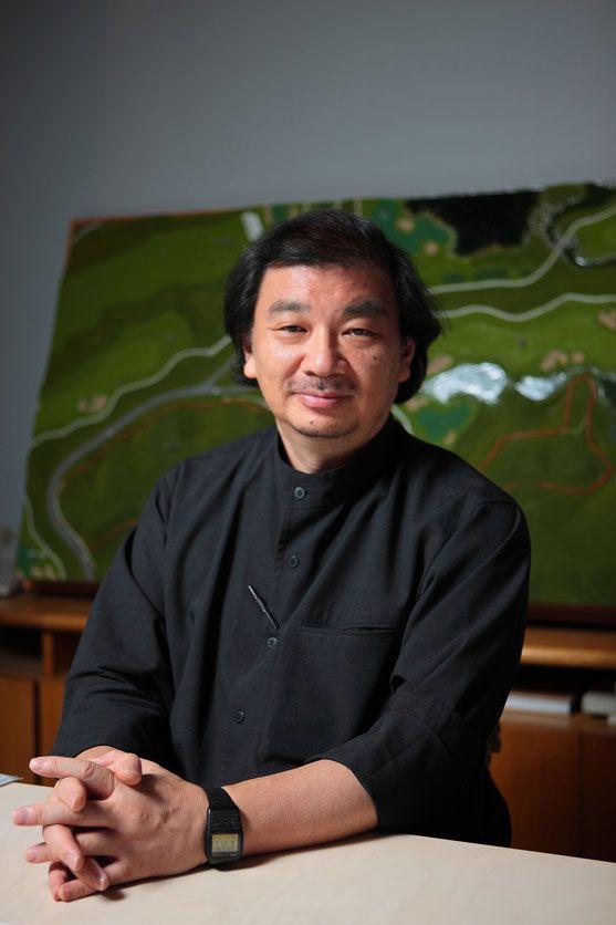 Shigeru Ban, architecte lauréat du prix Pritzker 2014