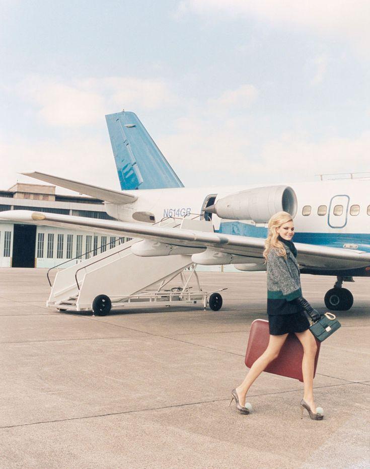 Caroline Trentini Lives the Jet Set Life for Paule Kas