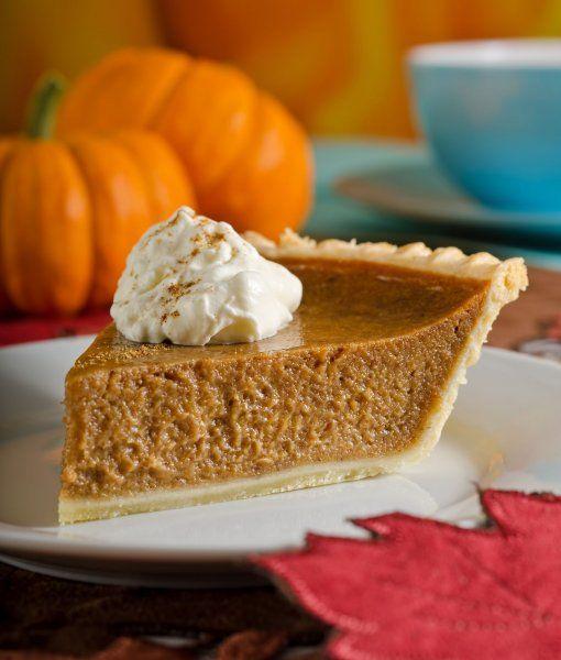 So lecker schmeckt der Herbst! Saftiger Kürbiskuchen nach einem klassischen Rezept aus den USA.