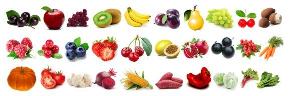 MX  VOCÊ AO MÁXIMO!   19 FRUTAS: Açaí, maçã, uva branca, pera, acerola, uva vermelha, banana, ameixa, kiwi, cupuaçu, framboesa, cranberry, blueberry, morango, cereja, maracujá, romã, jabuticaba e camu-camu.  11 VEGETAIS: Abóbora, tomate, cenoura, champignon, beterraba, milho,  batata doce, pimentão vermelho, repolho, ruibarbo e espinafre.  COLÁGENO HIDROLISADO+ LICOPENO + BETACAROTENO + BETA GLUCANA