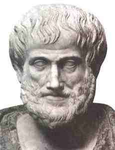 Greek philosopher Aristotle, promoter of the seawater cure