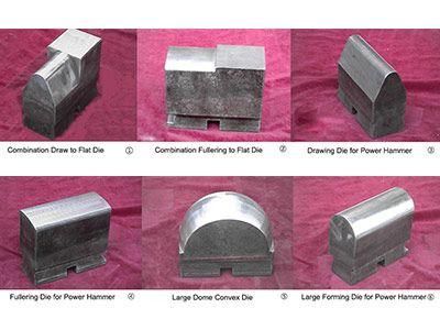 Blacksmith power hammer speical dies