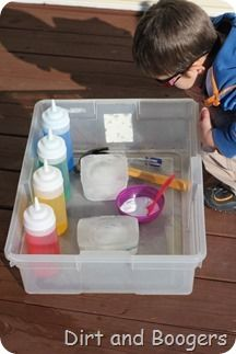 Arctic Animal Rescue: A great water activity for all kids freeze animals into the ice, challenge kids to release them