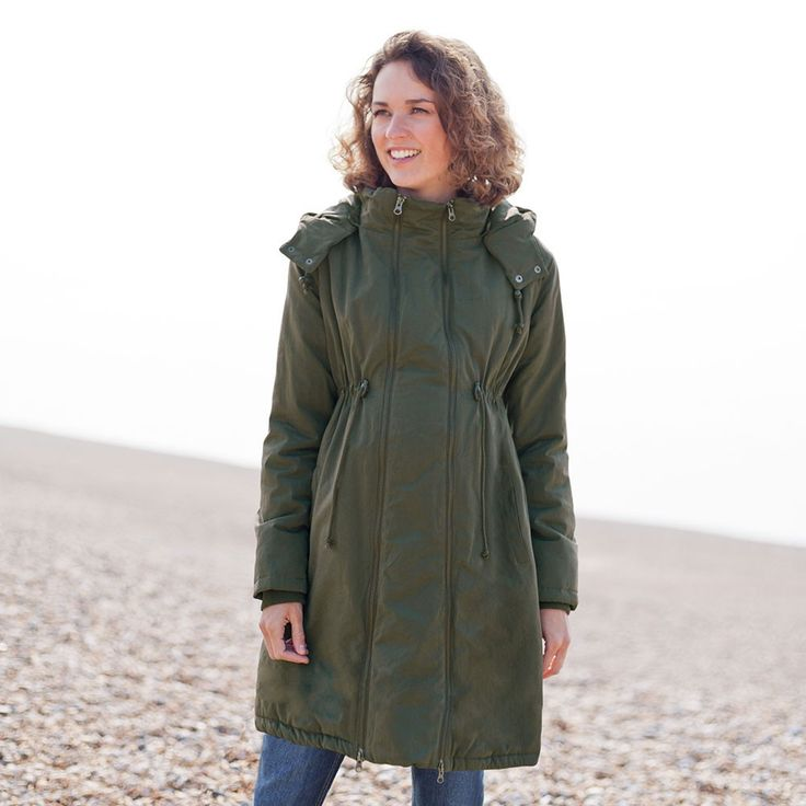 JoJo 2-in-1 Padded Maternity Coats. Use during pregnancy and after your baby arrives - a fantastic investment.