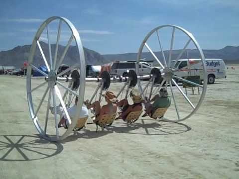 Mutant Big Wheel, Burning Man 2009