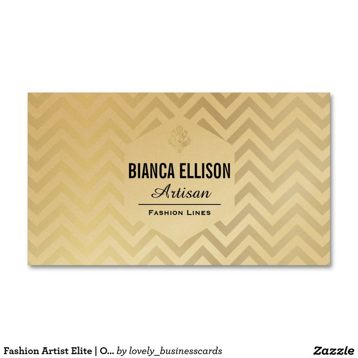 28 best gold business cards images on pinterest business cards fashion artist elite ornate chevron business card colourmoves