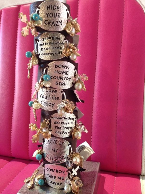 More cute bracelets in at The Pink Pistol in Tishomingo! Source: The Pink Pistol Facebook