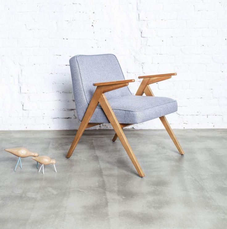 Fotel Józefa Chierowskiego – model 366 - Urządzamy pod klucz