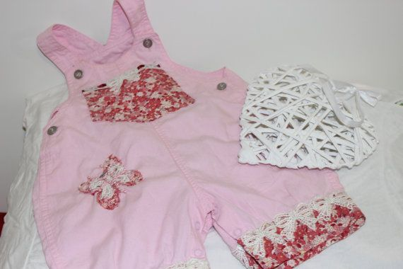 Baby rompers 'Pink Sherbet' toddler rompers by HouseOfMistDesigns